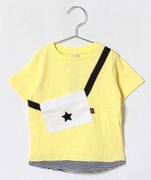 petit main/サコッシュモチーフつきTシャツ/500996413