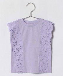 petit main/レースつきTシャツ/500996421