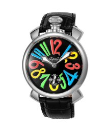 GaGa MILANO/ガガミラノ時計5010.02S-BLK-NEW○/500986142