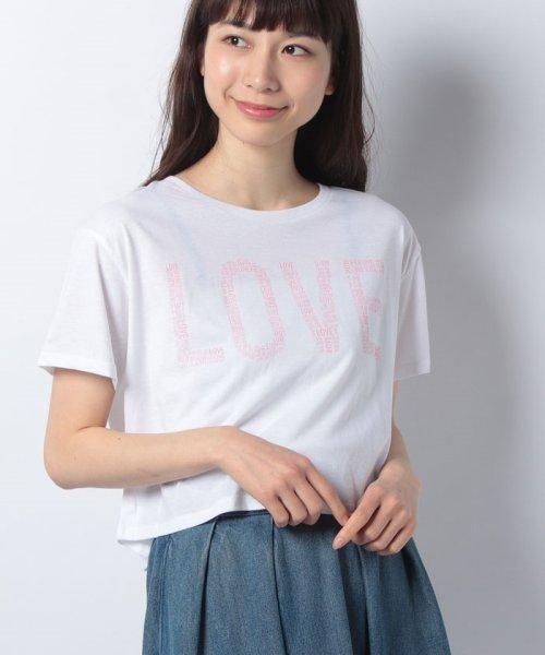 GooTee(グーティー)/LOVE/RDSHORTT393