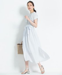 JIYU-KU /【洗える】RIOPELEライトシャーティング ワンピース/501008543