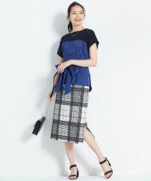 JIYU-KU /【洗える】RIOPELEグランドチェック スカート/501008558
