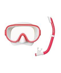 VIEW/ビュー/耐久性に優れたシリコーン素材 10歳~大人向けマスク・スノーケル2点セット/501008757
