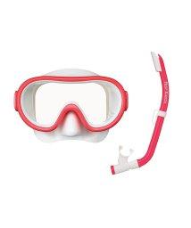 VIEW/ビュー/キッズ/高品質なシリコーン素材を採用したお子様向けの高機能マスク・スノーケル2点セット/501008758