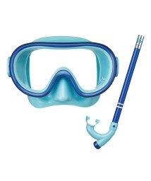 VIEW/ビュー/キッズ/4~9歳子供向けお手頃価格のマスク・スノーケル2点セット/501008761