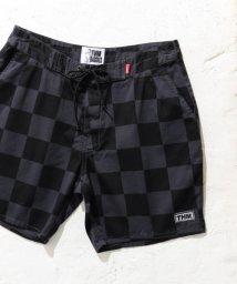 URBAN RESEARCH Sonny Label/THM Checker flag baggies/501008842