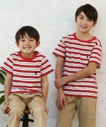 coen/【coen キッズ / ジュニア】リサイクルコットンボーダーTシャツ(100~150cm)/501008905