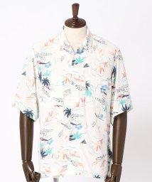 vital/プリントオープンカラーシャツ/500980616