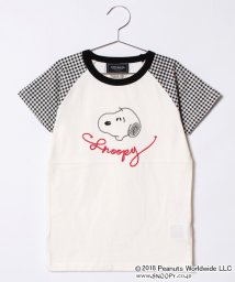 KRIFF MAYER(Kids)/SNOOPY刺繍ラグランTEE(140~160cm)/501001899