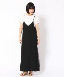 Grand PARK/Tシャツ×配色ライン入りワンピースセット/501003963