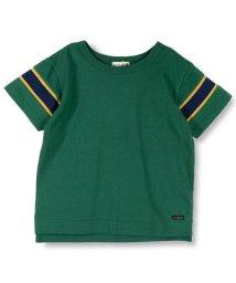 branshes/【TioTio加工】袖リブ切り替え半袖Tシャツ/501005185