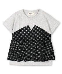 RADCHAP/ビスチェ重ね着風半袖Tシャツ/501005210