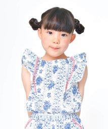 RADCHAP/【セットアップ対応商品】リップル花柄プリントチュニック/501005211