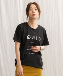 Audrey and John Wad/フロッキープリントTシャツ/501007605