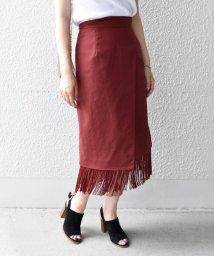 Khaju/Khaju:フリンジラップスカート/501009268