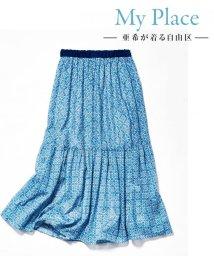 JIYU-KU(LARGE SIZE)/【亜希さん着用】Antoinette Poisson BOTANIQUE スカー/501010587