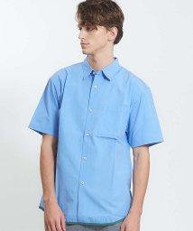 ABAHOUSE/タイプライターシーリングラインシャツ/501010836