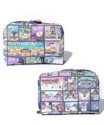 LeSportsac/EXTRA LARGE RECTANGULAR COSMETIC ミニオンズ コミック/LS0020236