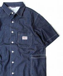 coen/SMITH別注半袖ワークシャツ18SS/500847528
