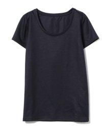 Demi-Luxe BEAMS/【洗える】Demi-Luxe BEAMS / リヨセル ベーシックTシャツ/500963891