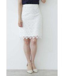 PROPORTION BODY DRESSING/ケミカルフラワーレーススカート/501012026