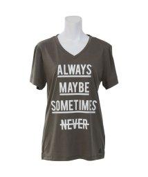 Reebok/リーボック/レディス/ヨガ エコピュアメッセージTシャツ/501012808
