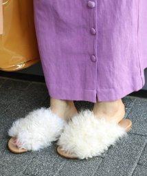 JOURNAL STANDARD/【EMU/エミュ】LOGAN LONG CURRY FUR サンダル◆/501012857