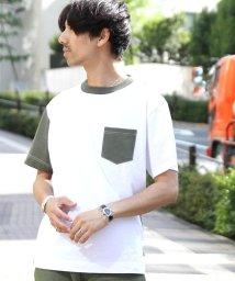 coen/USAコットンクレイジークルーネックTシャツ/501013393