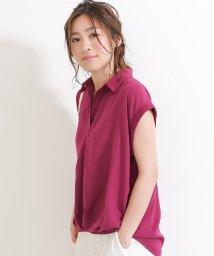 SocialGIRL/オトナのとろみスキッパーシャツ/500768948