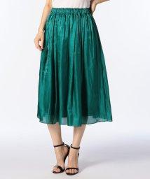 NOLLEY'S sophi/シャイニーギャザースカート/501006225