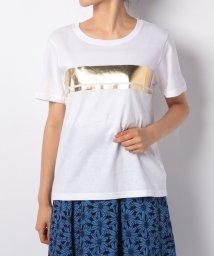 Mystrada/箔ボックスTシャツ/501012992