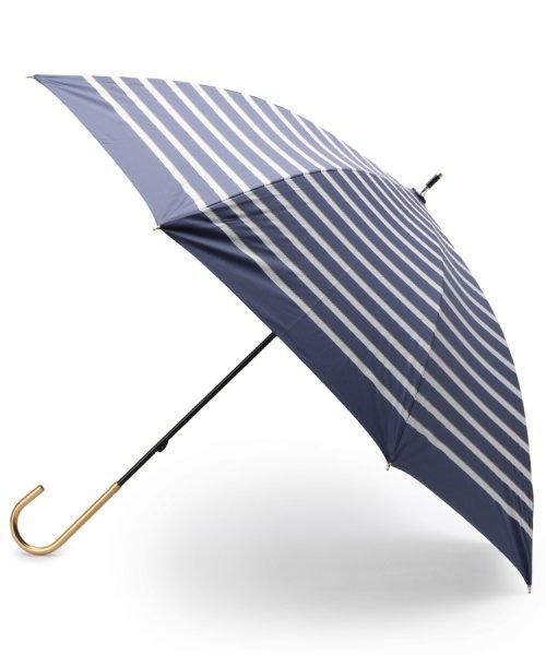 grove(グローブ)/晴雨兼用マリンボーダー長傘/99990976941142