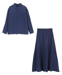 ur's/リネンライクシャツ×スカートセットアップ/501014445