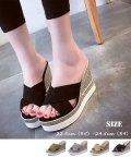 miniministore/ウェッジソール サンダル レディース 厚底 歩きやすい 脱げない 疲れない 靴/501014795