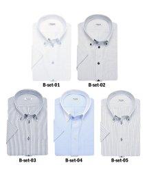 ATELIER365/半袖デザインワイシャツ5枚SET!! 選べるデザイン5枚組×7種類/501014973
