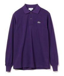 BEAMS MEN/LACOSTE / ロングスリーブ ポロシャツ/501015296