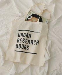 URBAN RESEARCH DOORS/ロゴプリントトートバック/501015806