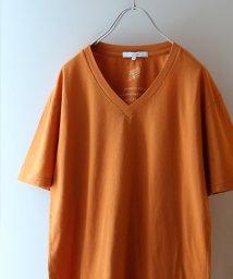 JOURNAL STANDARD relume Men's/【18SS】USAコットン VネックTシャツ/501015884