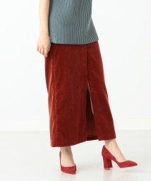 Demi-Luxe BEAMS/AURALEE / コーデュロイ スリット ロングスカート/501016059
