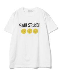 BEAMS OUTLET/YUSUKE HANAI / STAY STOKED T-shirt/500928504