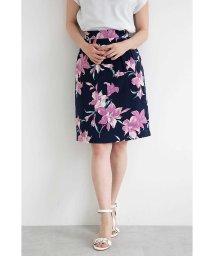 PROPORTION BODY DRESSING/リリーブラッシュプリントタイトスカート/500966556