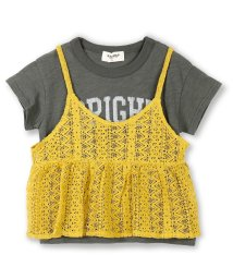 RADCHAP/ニットビスチェ半袖Tシャツセット/500986247