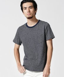 nano・universe/:粗挽き杢ボーダークルーTシャツ/501007721