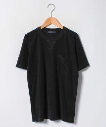 nano・universe/:黒硫化染めパイルクルーTシャツ/501007727