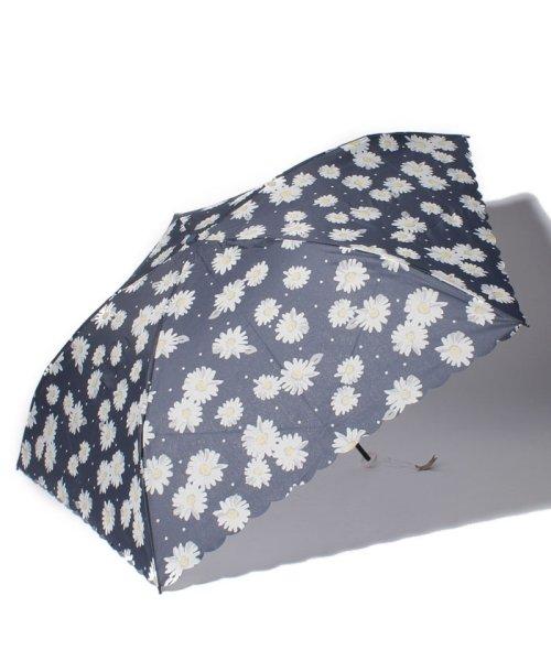 Afternoon Tea LIVING(アフタヌーンティー・リビング)/マーガレット柄軽量折りたたみ傘 雨傘/FG0418100161