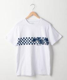 coen/サーフプリントTシャツ/501009580