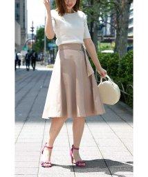 PROPORTION BODY DRESSING/ニドムサッシュフレアースカート/501013890