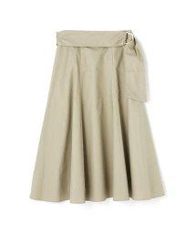 PROPORTION BODY DRESSING/★ニドムサッシュフレアースカート/501013890