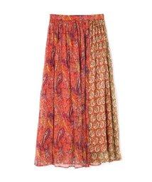 PROPORTION BODY DRESSING/《BLANCHIC》ペイズリーブロッキングスカート/501013893