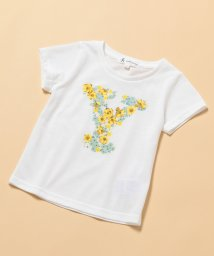 ROPE' PICNIC KIDS/【ROPE' PICNIC KIDS】アルファベット花柄Tシャツ/501019289